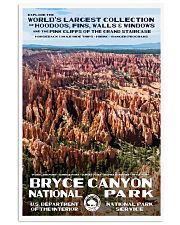 BRYCE CANYON 11x17 Poster front