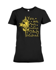 Only sunshine Premium Fit Ladies Tee front