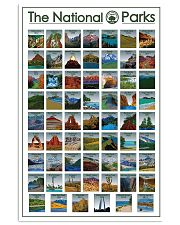 Limited Edition - 62 NPS 16x24 Poster front