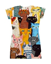 PERFECT DRESS 3D FOR CAT LOVERS All-over Dress back