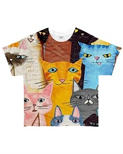 PERFECT DRESS 3D FOR CAT LOVERS All-over T-Shirt thumbnail