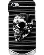Chrome skull  Phone Case i-phone-7-case