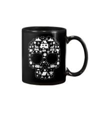 CAMPING SHIRT - SKULL Mug thumbnail