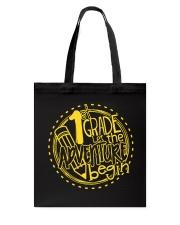 1st GRADE LET THE ADVENTURE BEGIN  Tote Bag thumbnail