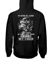 MY TATTOOS TELL A STORY Hooded Sweatshirt thumbnail