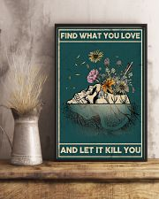 FIND WHAT YOU LOVE AND LET IT KILL YOU 16x24 Poster lifestyle-poster-3