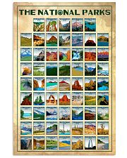 THE NATIONAL PARKS - o 24x36 Poster front