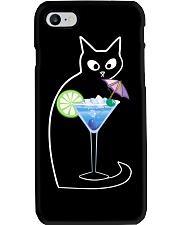 BLUE LAGOON COCKTAIL CAT Phone Case thumbnail