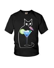 BLUE LAGOON COCKTAIL CAT Youth T-Shirt thumbnail