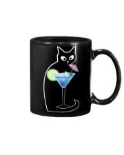 BLUE LAGOON COCKTAIL CAT Mug thumbnail