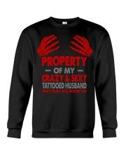 DON'T TOUCH Crewneck Sweatshirt thumbnail
