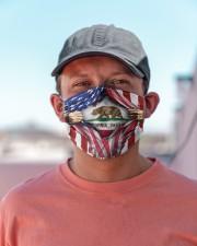 FLAGS CALIFORNIA Cloth face mask aos-face-mask-lifestyle-06