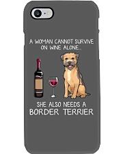 She Also Needs A Border Terrier Phone Case thumbnail