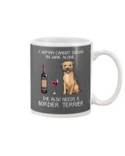 She Also Needs A Border Terrier Mug thumbnail