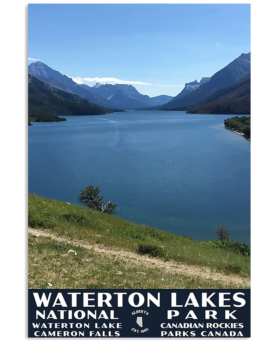 WATERTON LAKE NATIONAL PARK 16x24 Poster