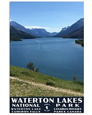 WATERTON LAKE NATIONAL PARK 16x24 Poster front