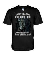 FEAR ME V-Neck T-Shirt thumbnail