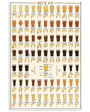 BEER 101 POSTER 16x24 Poster front