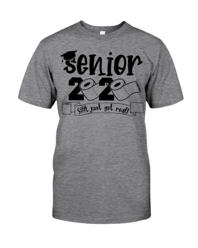 SENIOR 2020 GOT REAL T-SHIRT