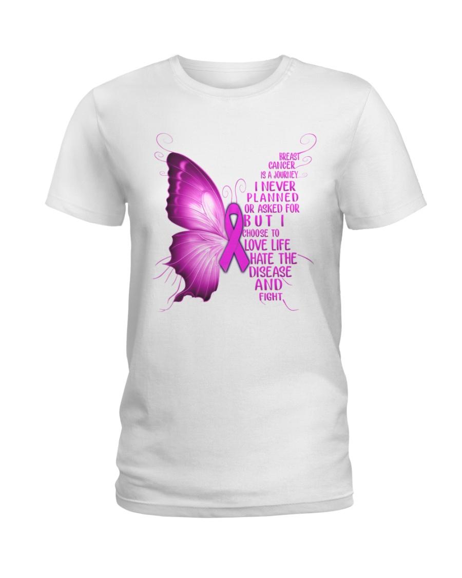 I CHOOSE TO LOVE LIFE Ladies T-Shirt