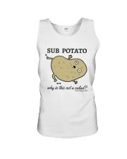 Sub Potato Unisex Tank thumbnail