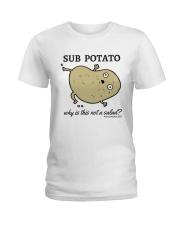 Sub Potato Ladies T-Shirt front