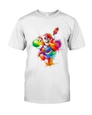 Mario colorified Classic T-Shirt front