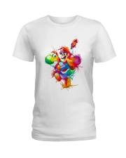 Mario colorified Ladies T-Shirt thumbnail