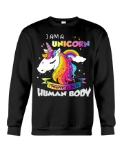 I Am A Unicorn Crewneck Sweatshirt thumbnail