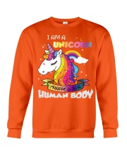 I Am A Unicorn Crewneck Sweatshirt front