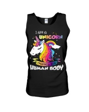 I Am A Unicorn Unisex Tank thumbnail