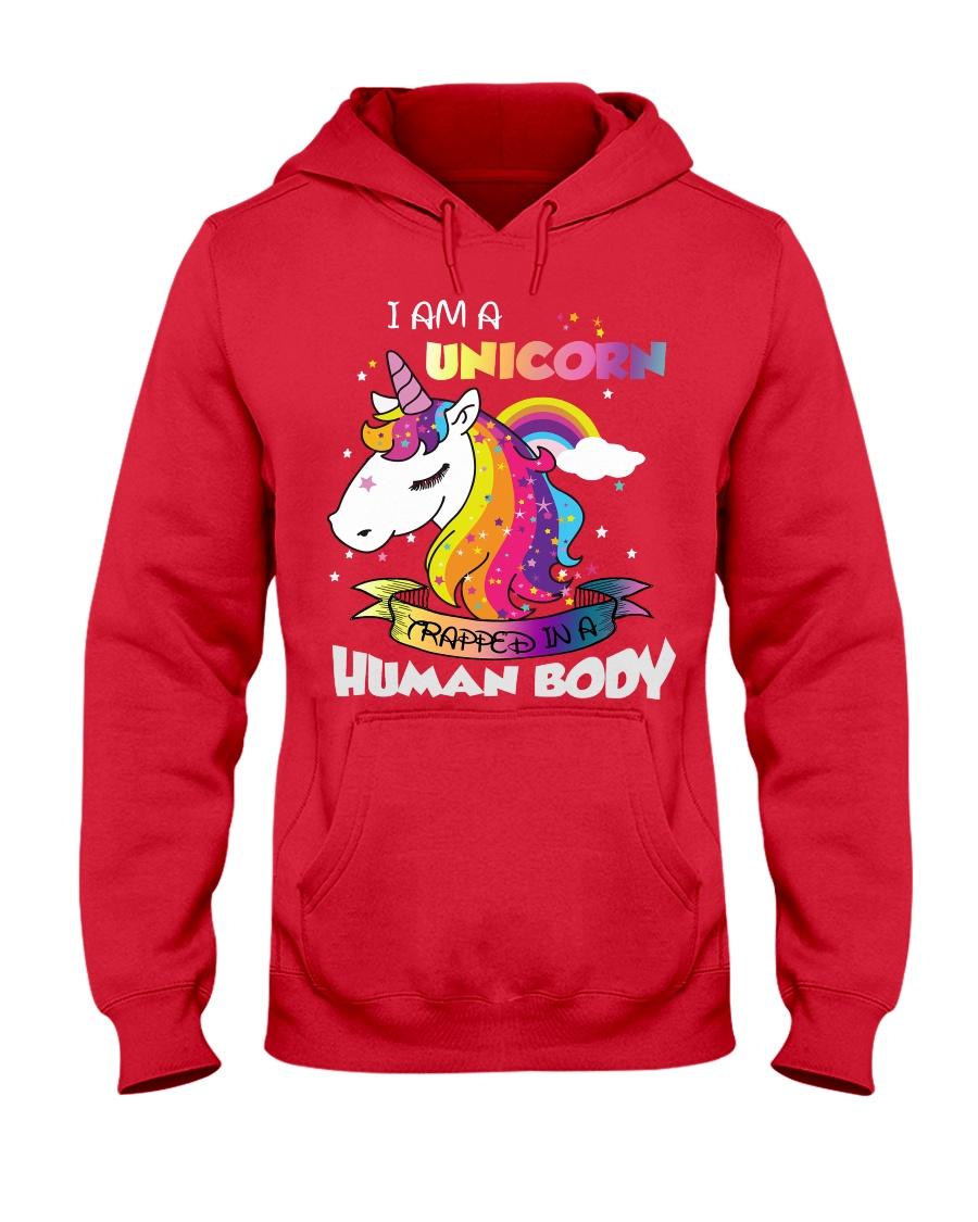 I Am A Unicorn Hooded Sweatshirt