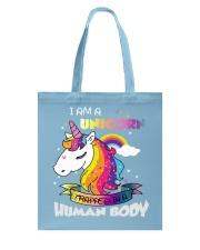 I Am A Unicorn Tote Bag front