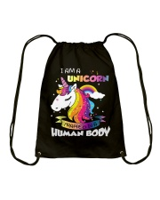 I Am A Unicorn Drawstring Bag tile