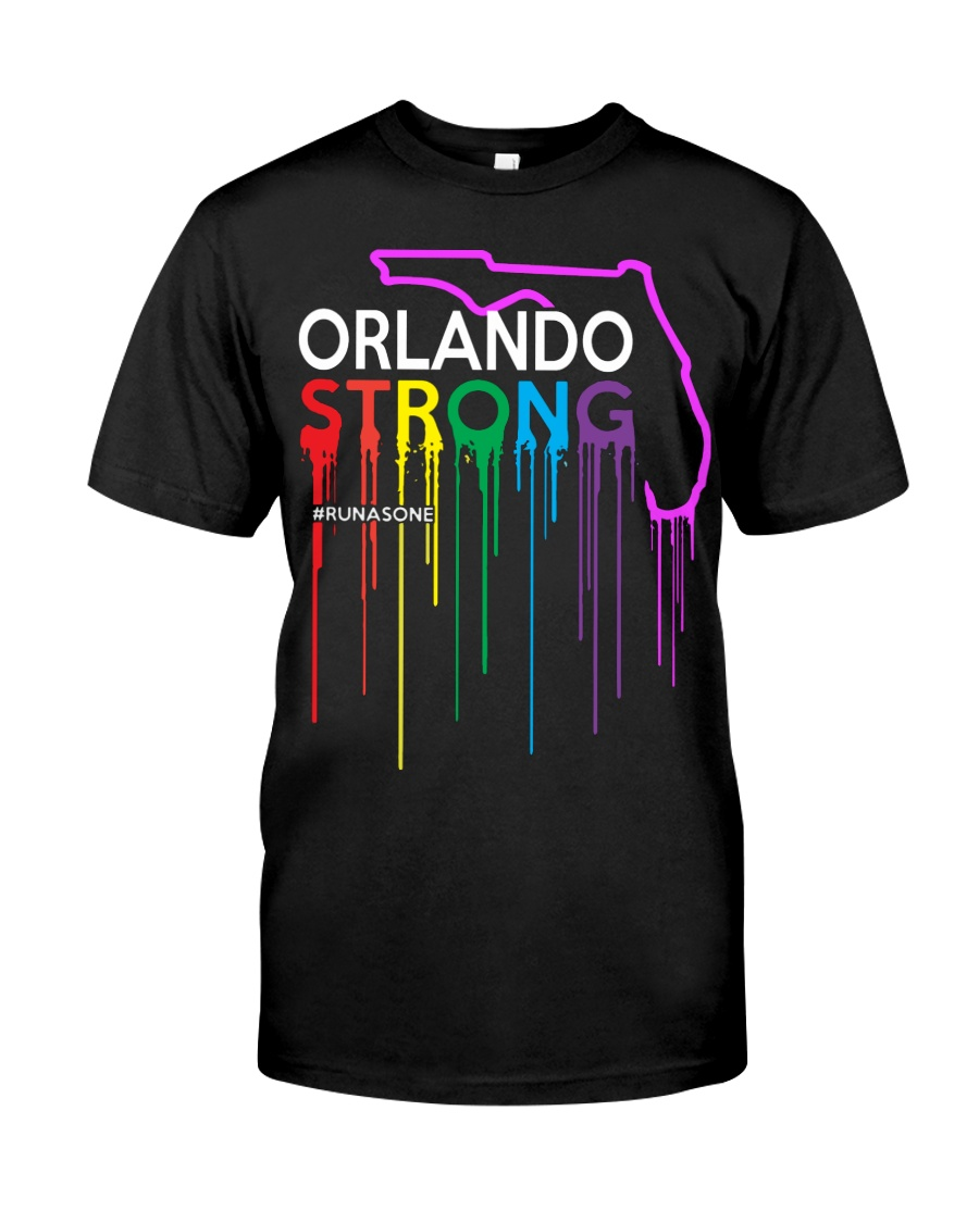 Be Strong Orlando Classic T-Shirt