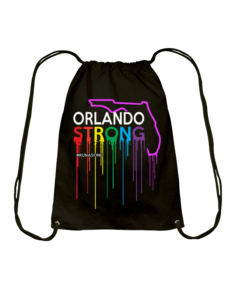Be Strong Orlando Drawstring Bag