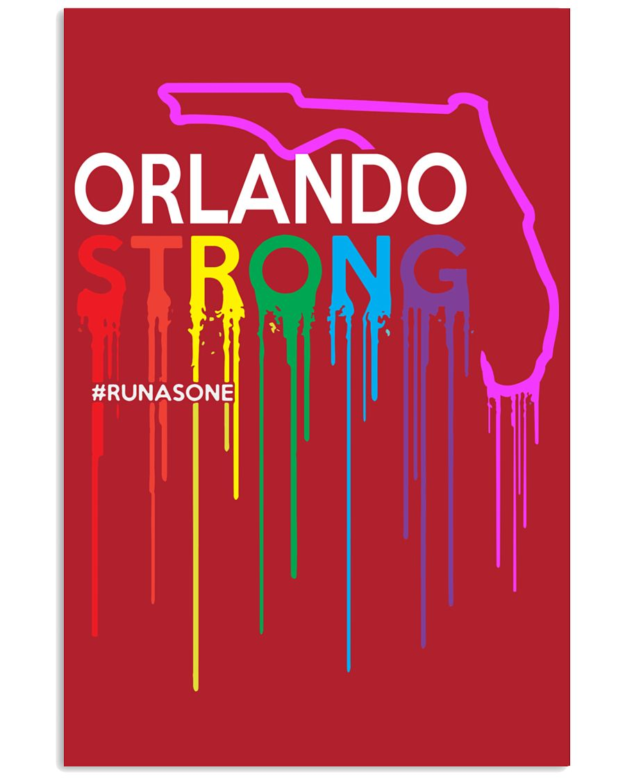 Be Strong Orlando 11x17 Poster