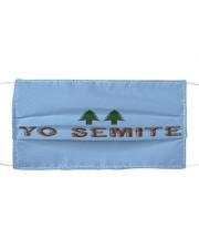 YO SEMITE FACE MASK Cloth face mask front