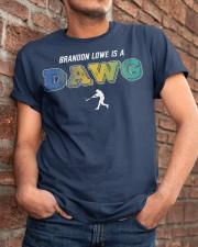 Brandon Lowe Is A Dawg Shirt Classic T-Shirt apparel-classic-tshirt-lifestyle-26