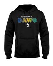 Brandon Lowe Is A Dawg Shirt Hooded Sweatshirt thumbnail