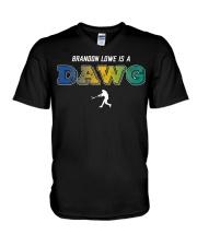 Brandon Lowe Is A Dawg Shirt V-Neck T-Shirt thumbnail