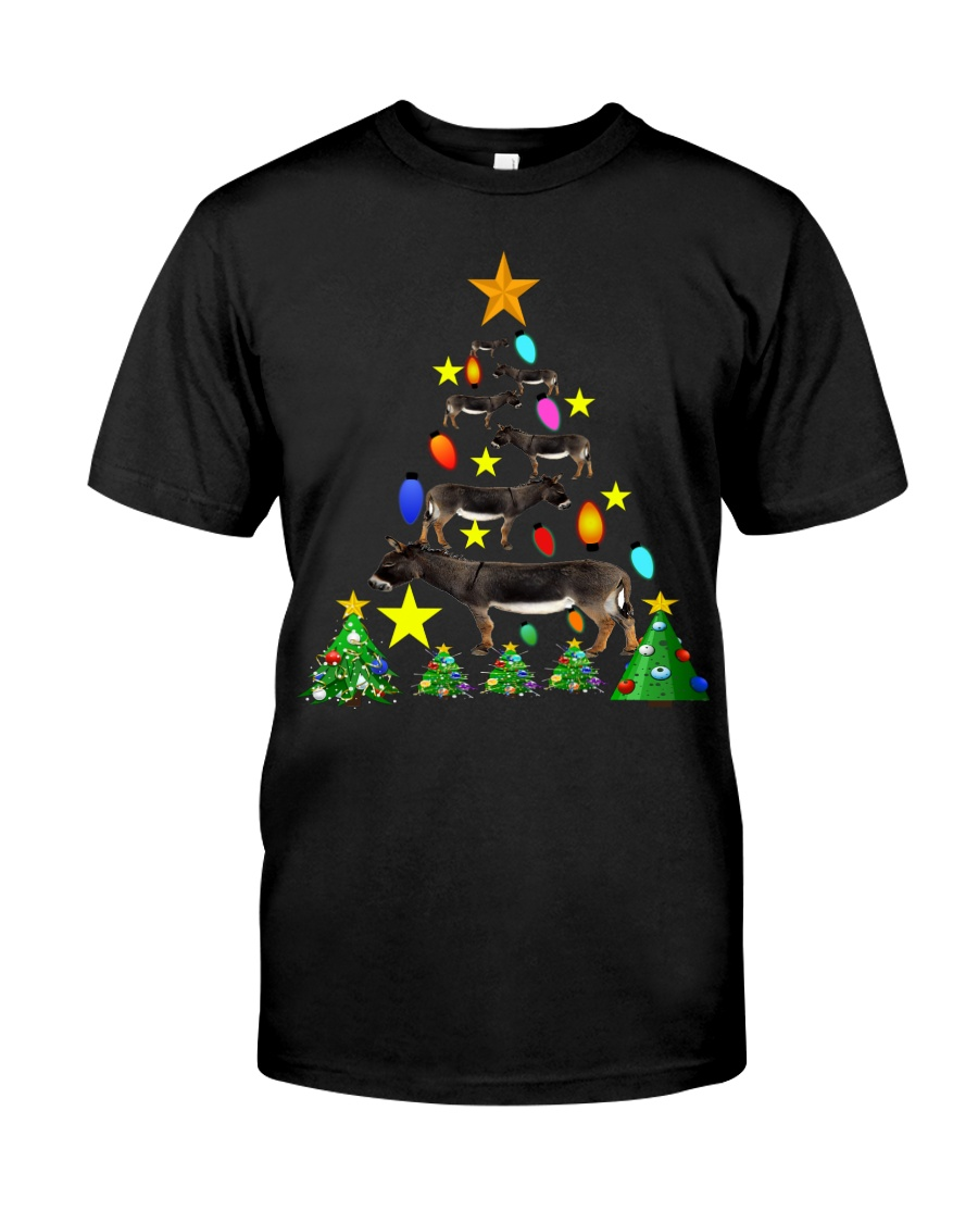 Merry Christmas with Donkeys Classic T-Shirt
