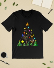 Merry Christmas with Donkeys Classic T-Shirt lifestyle-mens-crewneck-front-19