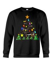 Merry Christmas with Donkeys Crewneck Sweatshirt thumbnail