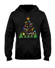Merry Christmas with Donkeys Hooded Sweatshirt thumbnail