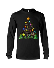 Merry Christmas with Donkeys Long Sleeve Tee thumbnail