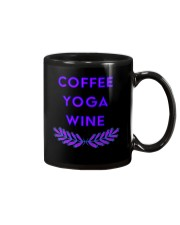 Coffee yoga wine Mug thumbnail