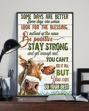 Some day are better Cow 11x17 Poster lifestyle-poster-2