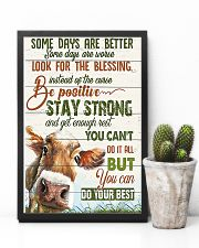 Some day are better Cow 11x17 Poster lifestyle-poster-8