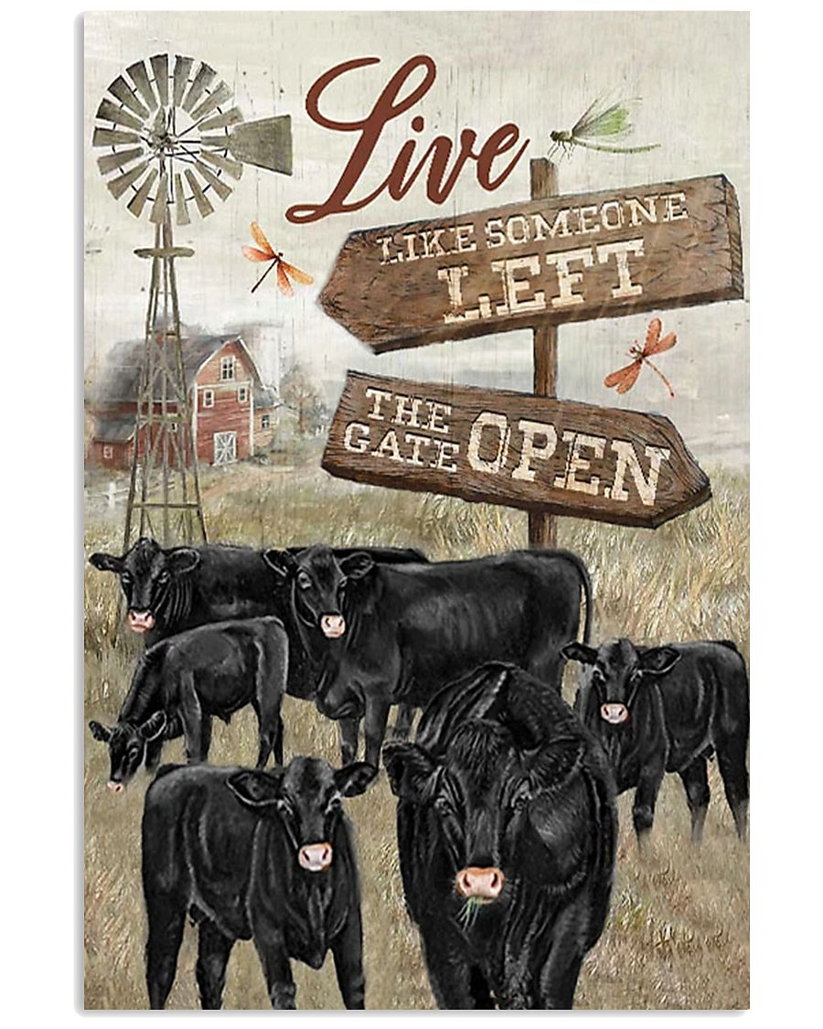 Black Angus poster 11x17 Poster